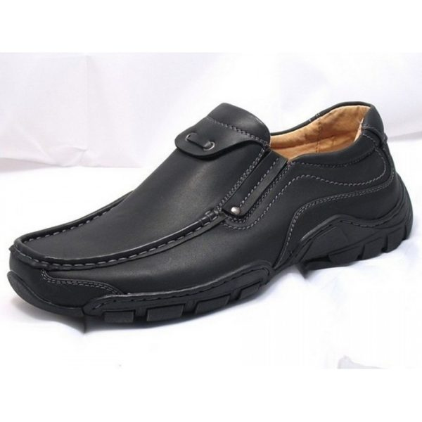 goor 03 mens slip on shoes black