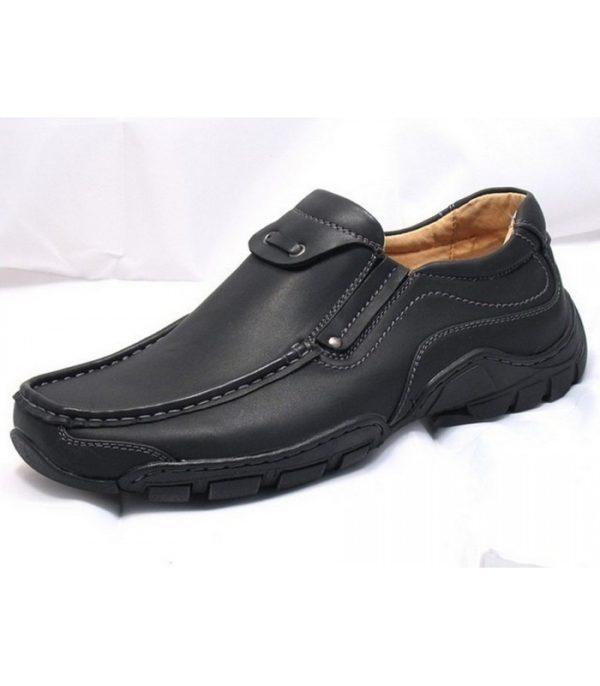 goor 03 mens slip on shoes black