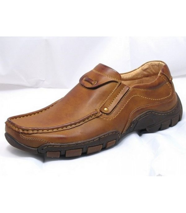 goor 03 mens slip on shoes tan
