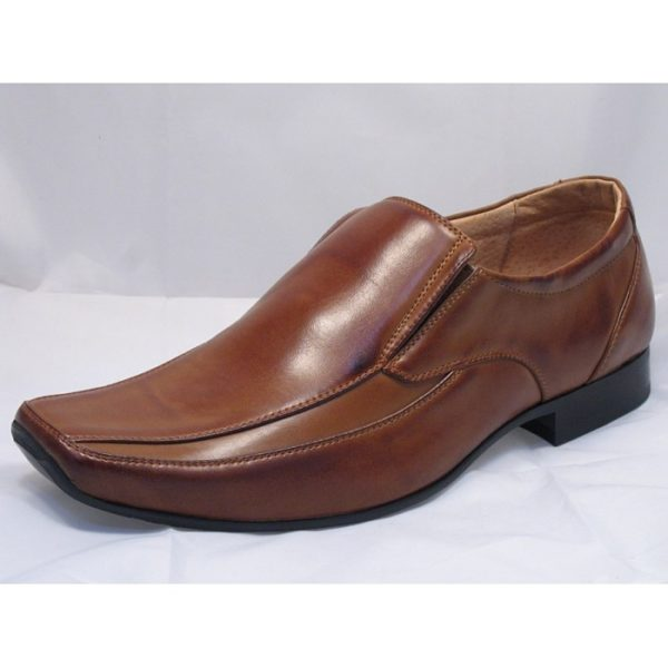 goor 113 formal mens shoe tan