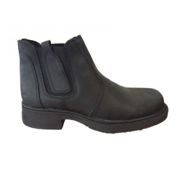 wrangler wm0130 pull on boot black