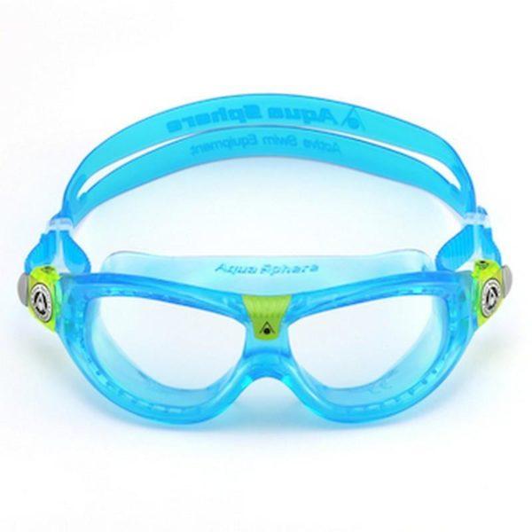 AquaSphere Seal Kid 2 Goggle Clear Lens Aqua