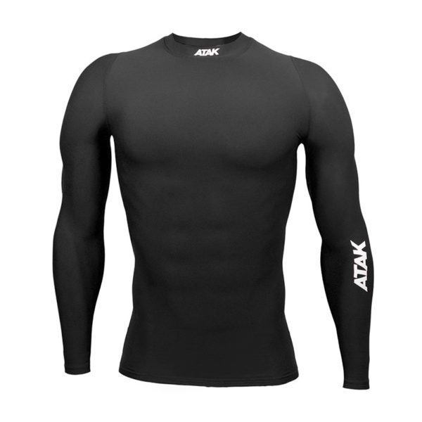 BLACK COMPRESSION TOP 1