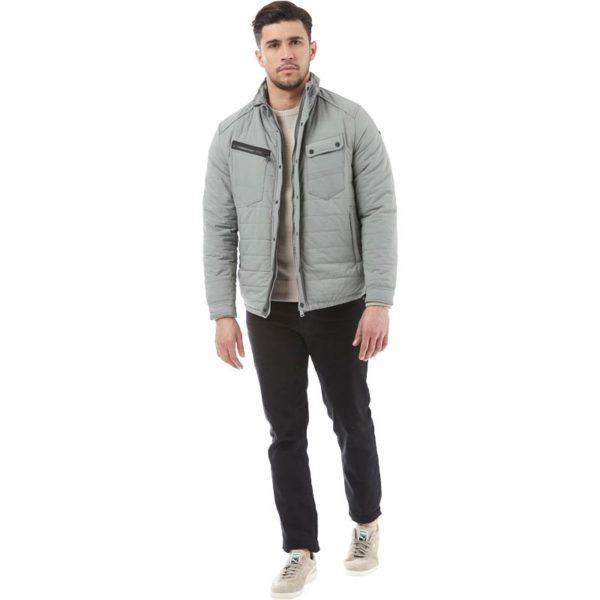 Duck and Cover Mens Cortina Jacket Grey 3