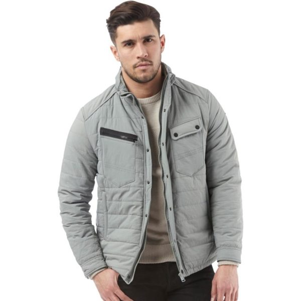 Duck and Cover Mens Cortina Jacket Grey