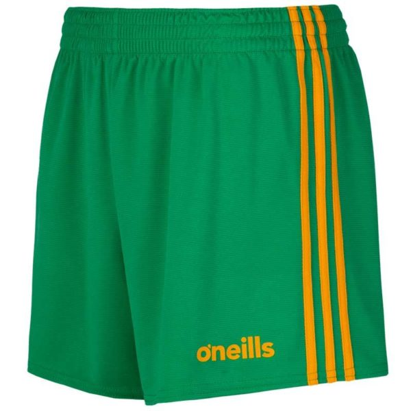 Mourne Shorts Kids Green Amber