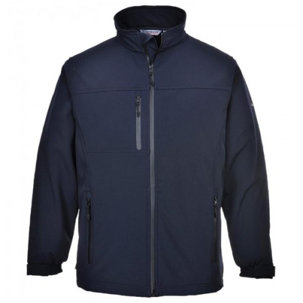 PORTWEST SOFTSHELL JACKET 3L TK50 NAVY