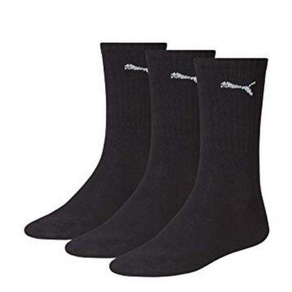 Puma Crew Sock 6 x 3pks Black