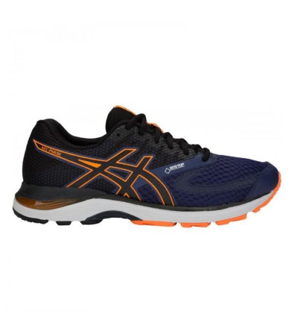 asics gel excite 4 mens running shoes blue 1