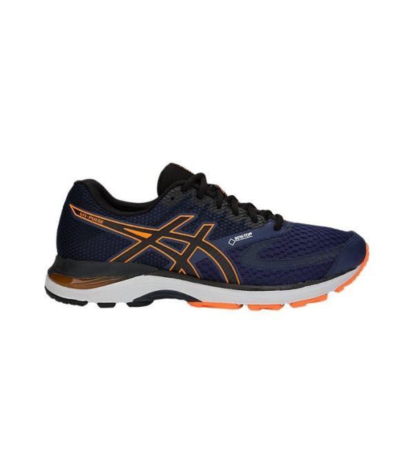 asics gel excite 4 mens running shoes blue 3