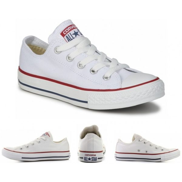 chuck taylor white ox low