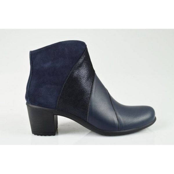 imac ladies ankle boots navy
