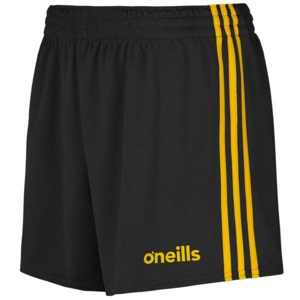 mourne gaelic shorts blk amb 1 1