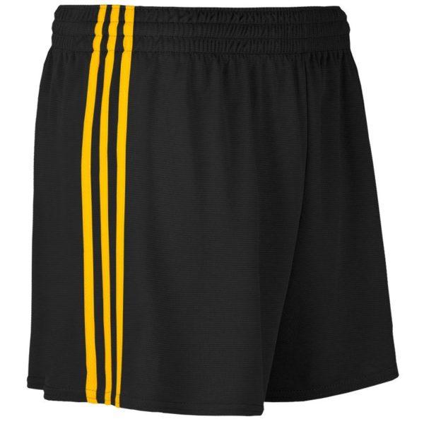 mourne gaelic shorts blk amb 2 1