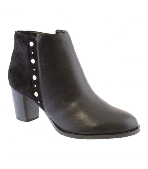 susst ellen ladies ankle boot black 1