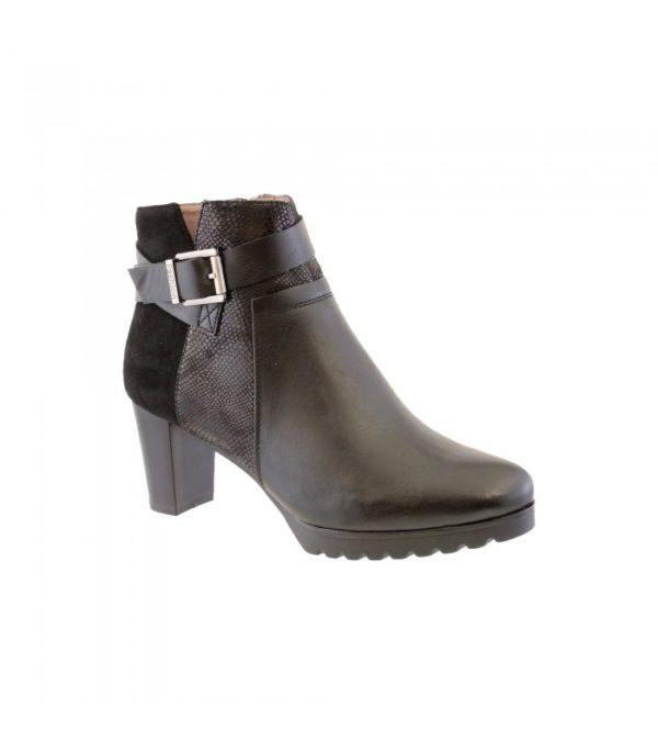 susst ladies ankle boot black 1