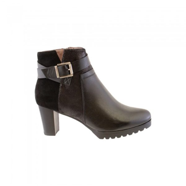 susst ladies ankle boot black