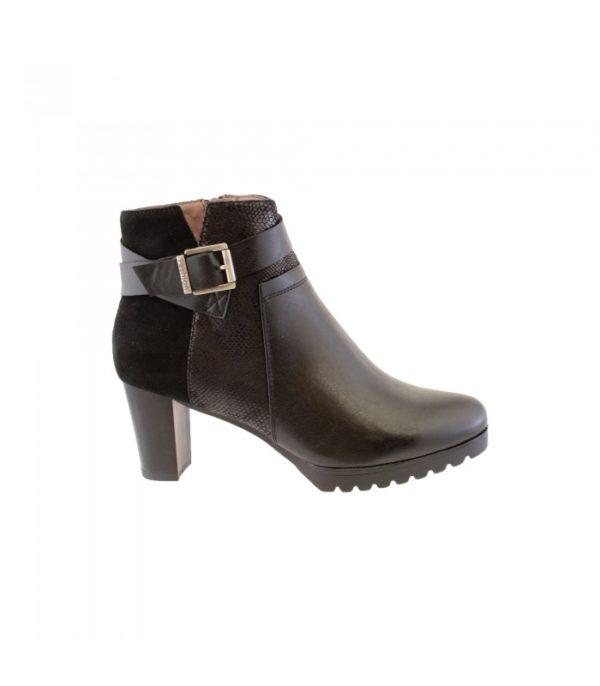 susst ladies ankle boot black