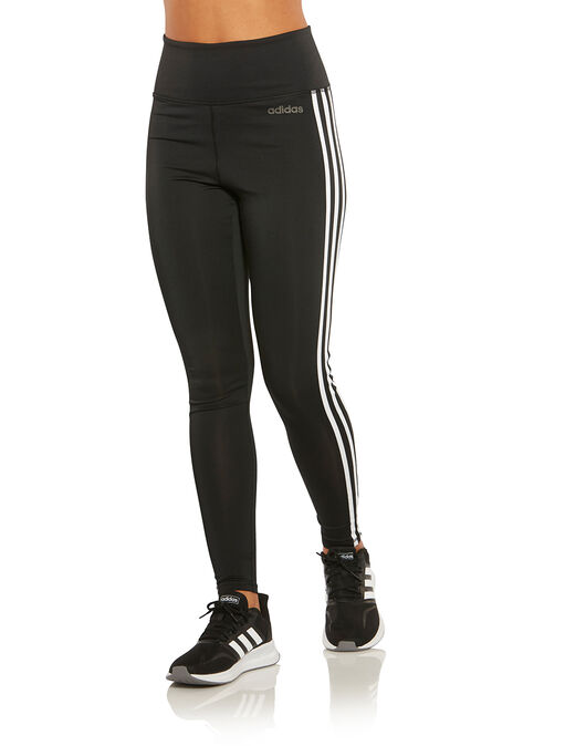adidas leggings three stripes