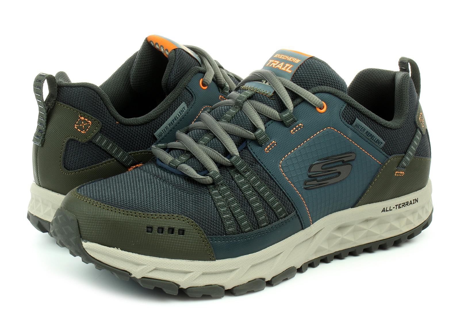 skechers escape plan men's trail shoes