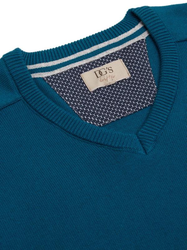 Blue v neck 1