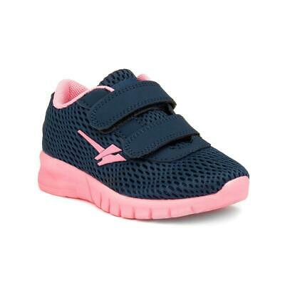 Gola Kids Navy and Blue Easy Fasten Trainers