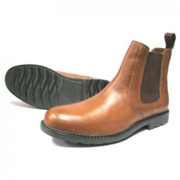 Tan Dealer Boot