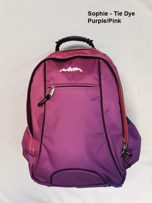Sophie tie dye purple pink