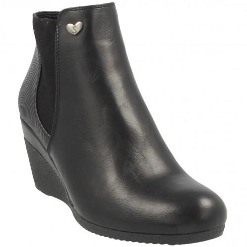 susst ladies nadine ankle boot 00062952 br