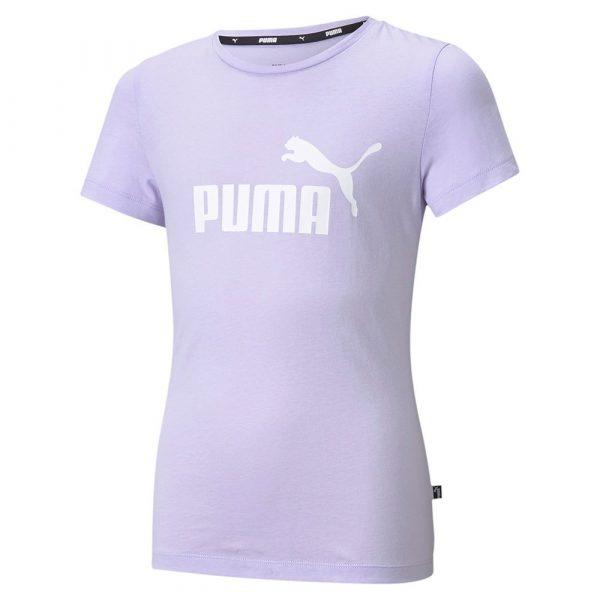 puma essential logo short sleeve t shirt